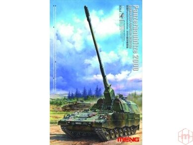 Meng Model - German Panzerhaubitze 2000 Self-Propelled Howitzer, Scale: 1/35, TS-012
