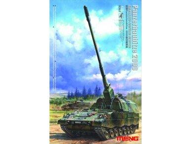 Meng Model - German Panzerhaubitze 2000 Self-Propelled Howitzer, Mastelis: 1/35, TS-012