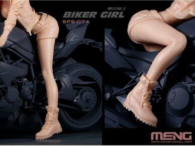 Meng Model - Biker Girl, Scale: 1/9, SPS-074 3