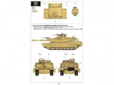 Meng Model - M1A2 Abrams TUSK I/TUSK II SEP, Scale: 1/35, TS-026 12