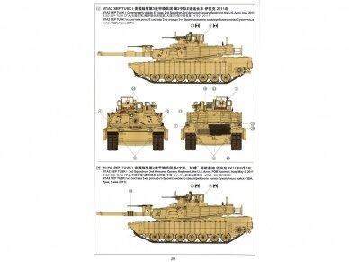 Meng Model - M1A2 Abrams TUSK I/TUSK II SEP, Mastelis: 1/35, TS-026 13
