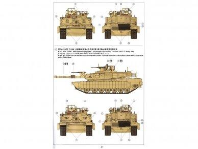Meng Model - M1A2 Abrams TUSK I/TUSK II SEP, Mastelis: 1/35, TS-026 14