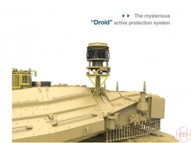 Meng Model - Israel Main Battle Tank Merkava Mk.4/4LIC w/Nochri-Kal Mine Roller System, 1/35, TS-049 4