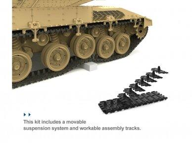 Meng Model - Israel Main Battle Tank Merkava Mk.4/4LIC w/Nochri-Kal Mine Roller System, 1/35, TS-049 5