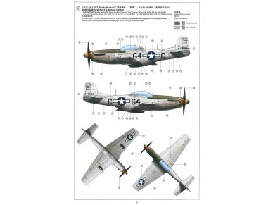 Meng Model - P-51D/K Mustang N/A 8th Air Force, Scale: 1/48, LS-010 8