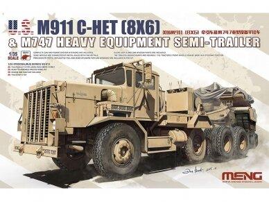 Meng Model - U.S. M911 C-HET (8x6), Mastelis: 1/35, SS-013