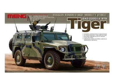 Meng Model - Russian GAZ-233014 STS Tiger Russian Armoured High Mobility Vehicle, Mastelis: 1/35, VS003