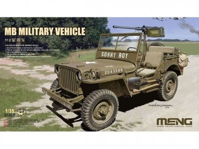 Meng Model - MB Military Vehicle, 1/35, VS-011