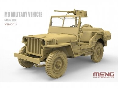 Meng Model - MB Military Vehicle, 1/35, VS-011 2