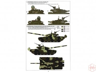 Meng Model - Russian Main Battle Tank T-72B1, Mastelis: 1/35, TS-033 12