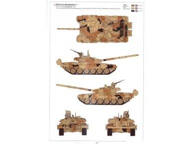 Meng Model - Russian Main Battle Tank T-72B3, Mastelis: 1/35, TS-028 13