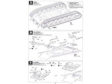 Meng Model - Russian Main Battle Tank T-72B3, Mastelis: 1/35, TS-028 17