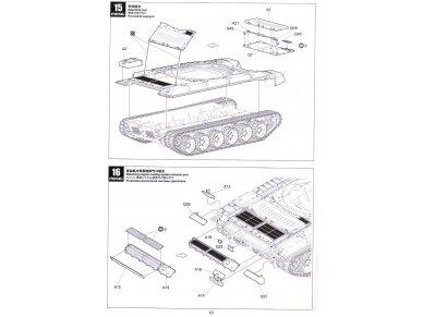 Meng Model - Russian Main Battle Tank T-72B3, Mastelis: 1/35, TS-028 19