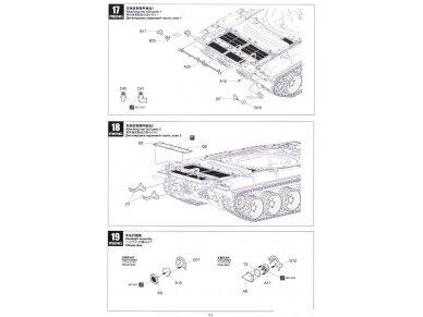 Meng Model - Russian Main Battle Tank T-72B3, Mastelis: 1/35, TS-028 20