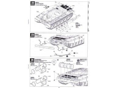 Meng Model - Russian Main Battle Tank T-72B3, Mastelis: 1/35, TS-028 22