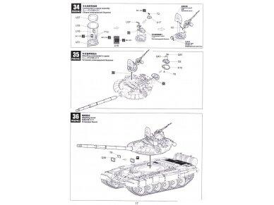 Meng Model - Russian Main Battle Tank T-72B3, Mastelis: 1/35, TS-028 26