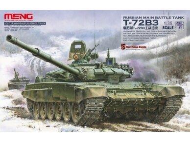 Meng Model - Russian Main Battle Tank T-72B3, Mastelis: 1/35, TS-028
