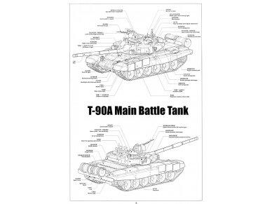 Meng Model - Russian T-90A Russian Main Battle Tank, Mastelis: 1/35, TS-006 2