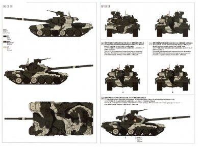 Meng Model - Russian T-90A Russian Main Battle Tank, Mastelis: 1/35, TS-006 15