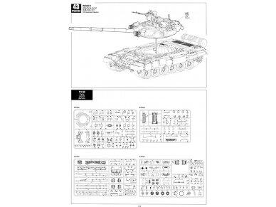 Meng Model - Russian T-90A Russian Main Battle Tank, Mastelis: 1/35, TS-006 30