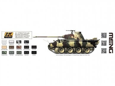 Meng Model - Sd.Kfz.171 Panther Ausf.D, Scale: 1/35, TS-038 12