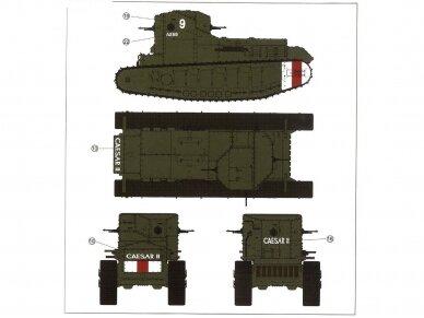 Meng Model - British Medium Tank Mk.A Whippet, Scale: 1/35, TS-021 10