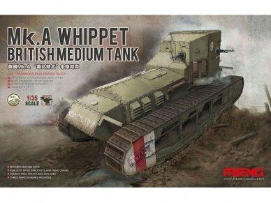 Meng Model - British Medium Tank Mk.A Whippet, Scale: 1/35, TS-021