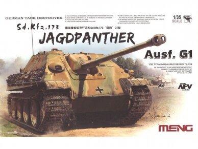 Meng Model - Sd.Kfz.173 Jagdpanther Ausf.G1, Mastelis: 1/35, TS-039
