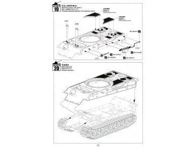 Meng Model - Sd.Kfz.182 King tiger (Porsche Turret), Mastelis: 1/35, TS-037 20