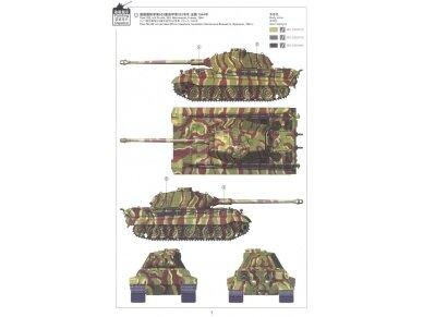 Meng Model - Sd.Kfz.182 King tiger (Porsche Turret), Mastelis: 1/35, TS-037 7
