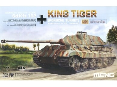 Meng Model - Sd.Kfz.182 King tiger (Porsche Turret), Scale: 1/35, TS-037
