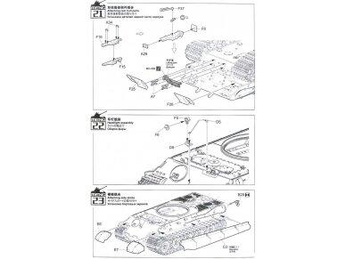 """Meng Model - Tank Sd.Kfz.182 """"King Tiger"""", Mastelis: 1/35, TS-031 25"""