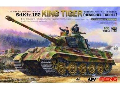 """Meng Model - Tank Sd.Kfz.182 """"King Tiger"""", Mastelis: 1/35, TS-031"""