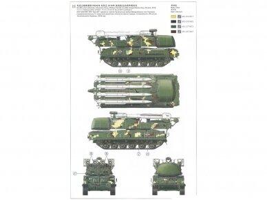Meng Model - Russian 9K37M1 BUK Air defense missile system SAM, 1/35, SS-014 4