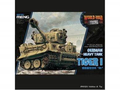 Meng Model - World War Toons - German Heavy Tank Tiger I, WWT-001