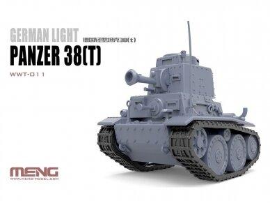 Meng Model - World War Toons Panzer 38(t), WWT-011 2