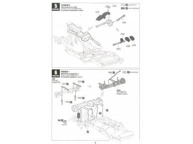 Meng Model - Jeep Wrangler Rubicon 2-Door, Mastelis: 1/24, CS-003 12