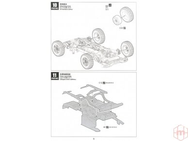Meng Model - Jeep Wrangler Rubicon 2-Door, Mastelis: 1/24, CS-003 15