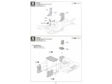 Meng Model - Jeep Wrangler Rubicon 2-Door, Mastelis: 1/24, CS-003 16