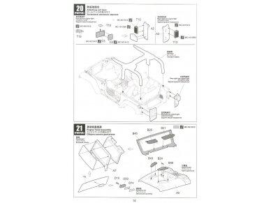 Meng Model - Jeep Wrangler Rubicon 2-Door, Mastelis: 1/24, CS-003 20