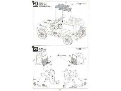Meng Model - Jeep Wrangler Rubicon 2-Door, Mastelis: 1/24, CS-003 24