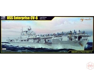 Merit International - USS Enterprise CV-6 (1942), Mastelis: 1/350, 65302