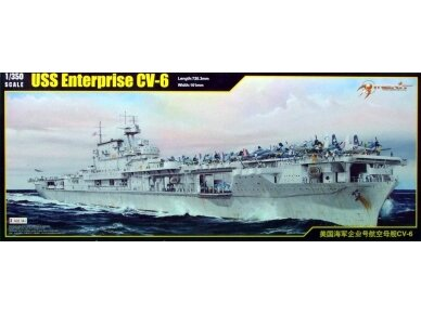 Merit International - USS Enterprise CV-6 (1942), Mastelis: 1/350, 65302