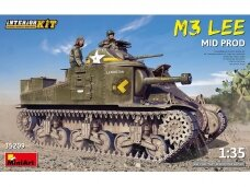 Miniart - M3 Lee Mid. Production, 1/35, 35209