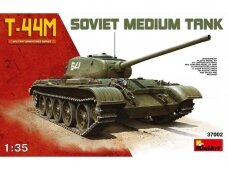 Miniart - Soviet Medium Tank T-44M with Interior, 1/35, 37002