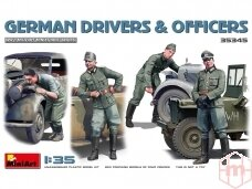 Miniart - German Drivers & Officers, 1/35, 35345