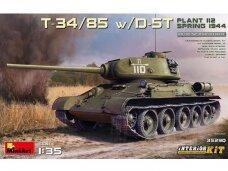 Miniart - T-34/85 w/D-5T. Plant 112. Spring 1944 (Interior kit), 1/35, 35290
