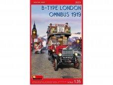 Miniart - B-Type London Omnibus 1919, Mastelis: 1/35, 38031
