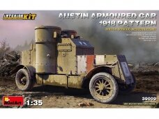 Miniart - Austin Armoured Car 1918 Pattern British Service. Western Front, 1/35, 39009