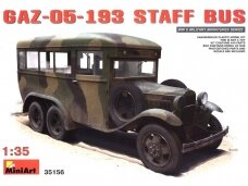 Miniart - GAZ-05-193 Staff Bus, 1/35, 35156